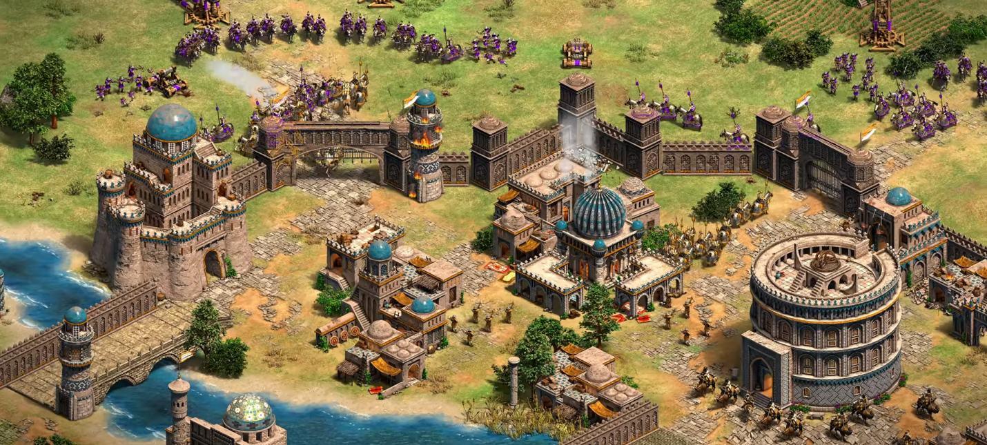 11 минут геймплея Age of Empires II: Definitive Edition