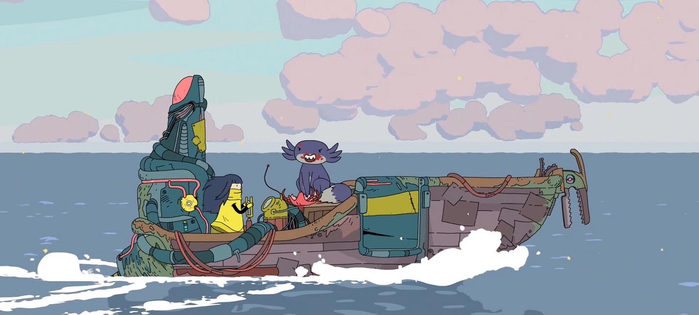 Красочный геймплей инди-адвенчуры Minute Of Islands, напоминающей Adventure Time
