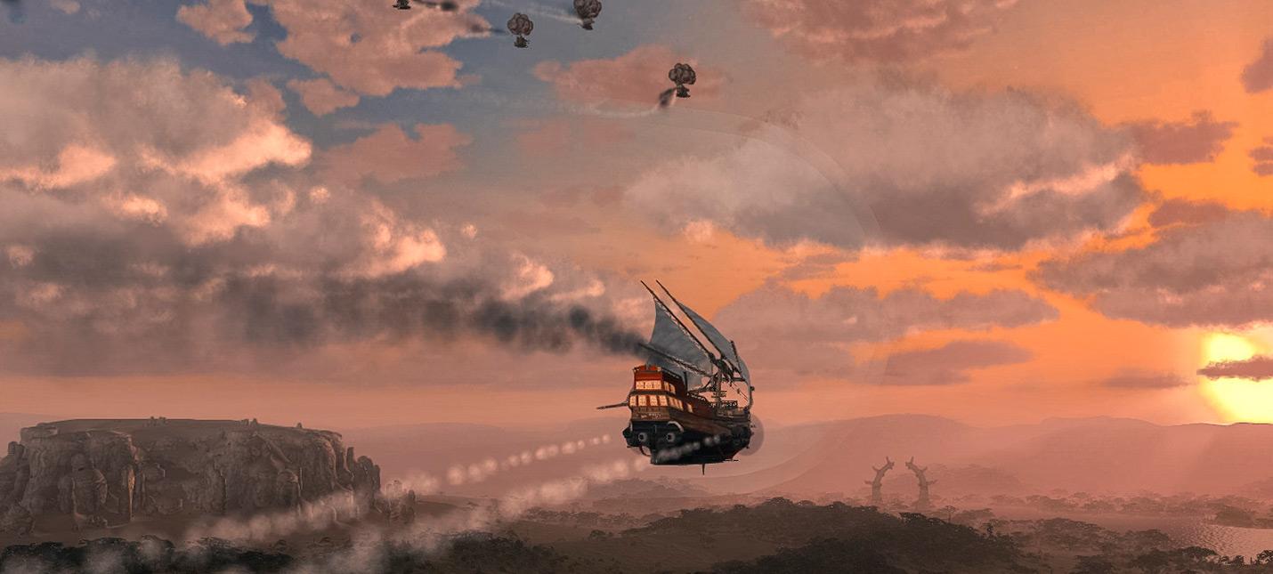 Мир дирижаблей Aima Wars: Steampunk & Orcs выходит 17 декабря