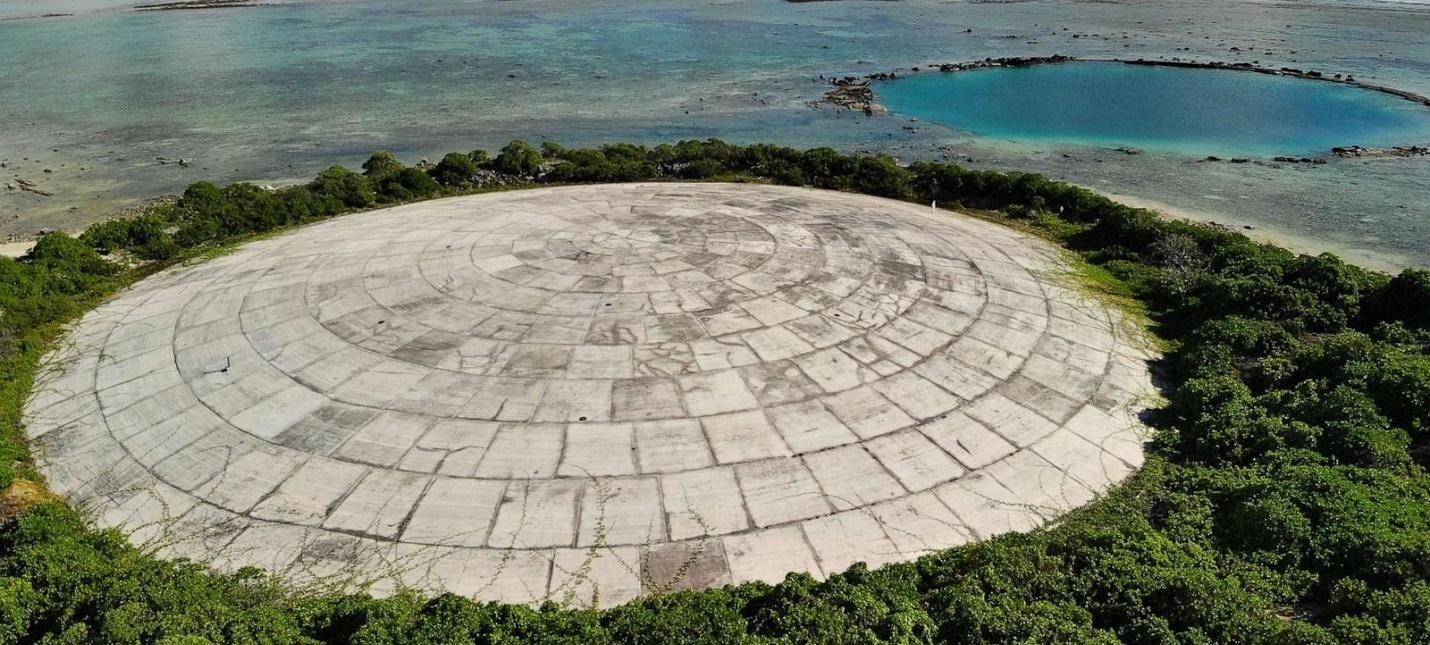 Хранилище ядерных отходов на острове Рунит может не выдержать изменений климата