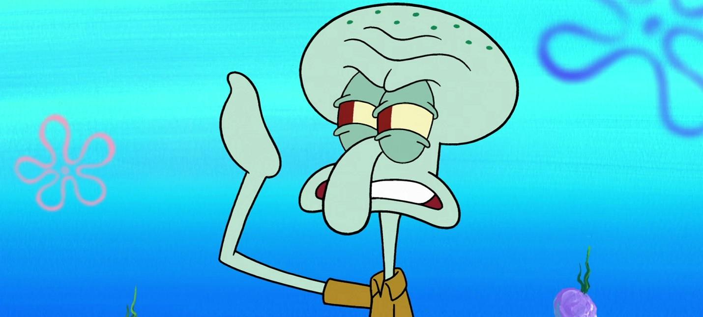 "На Netflix выйдет спин-офф ""Спанч Боба"" про Сквидварда"