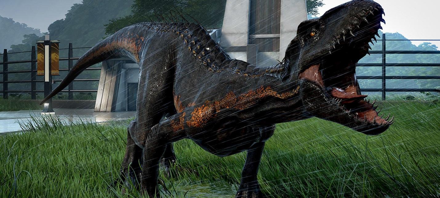 Оригинальный Парк Юрского Периода в дополнении Return to Jurassic Park для Jurassic World Evolution
