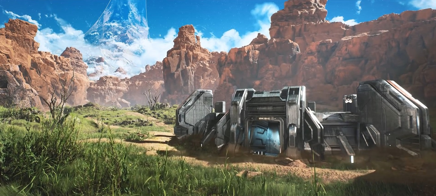 Сотрудник Quixel воссоздал карту Blood Gulch из Halo на Unreal Engine 4
