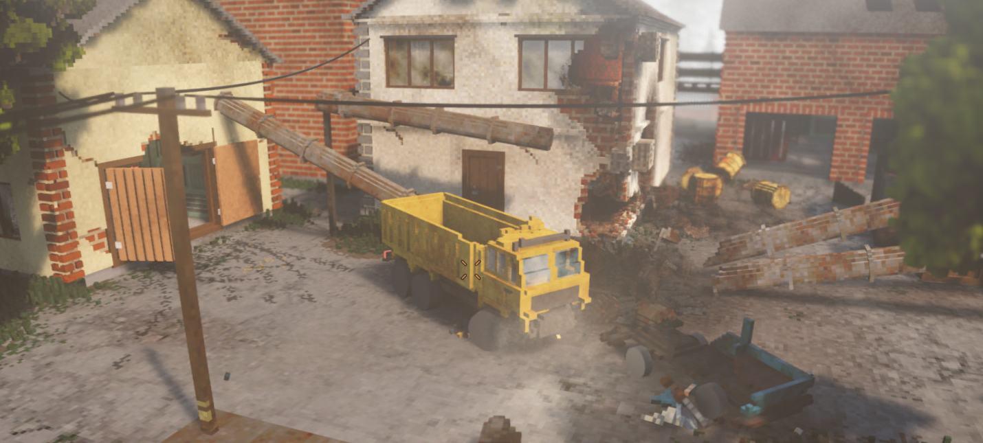 Обломки повсюду — новый геймплей воксельной песочницы Teardown