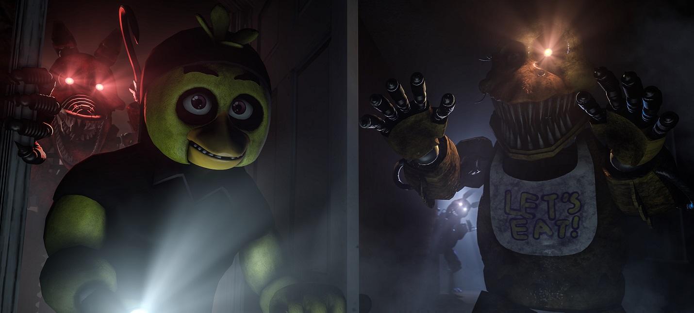 Четыре части Five Nights at Freddy's выйдут на консолях завтра