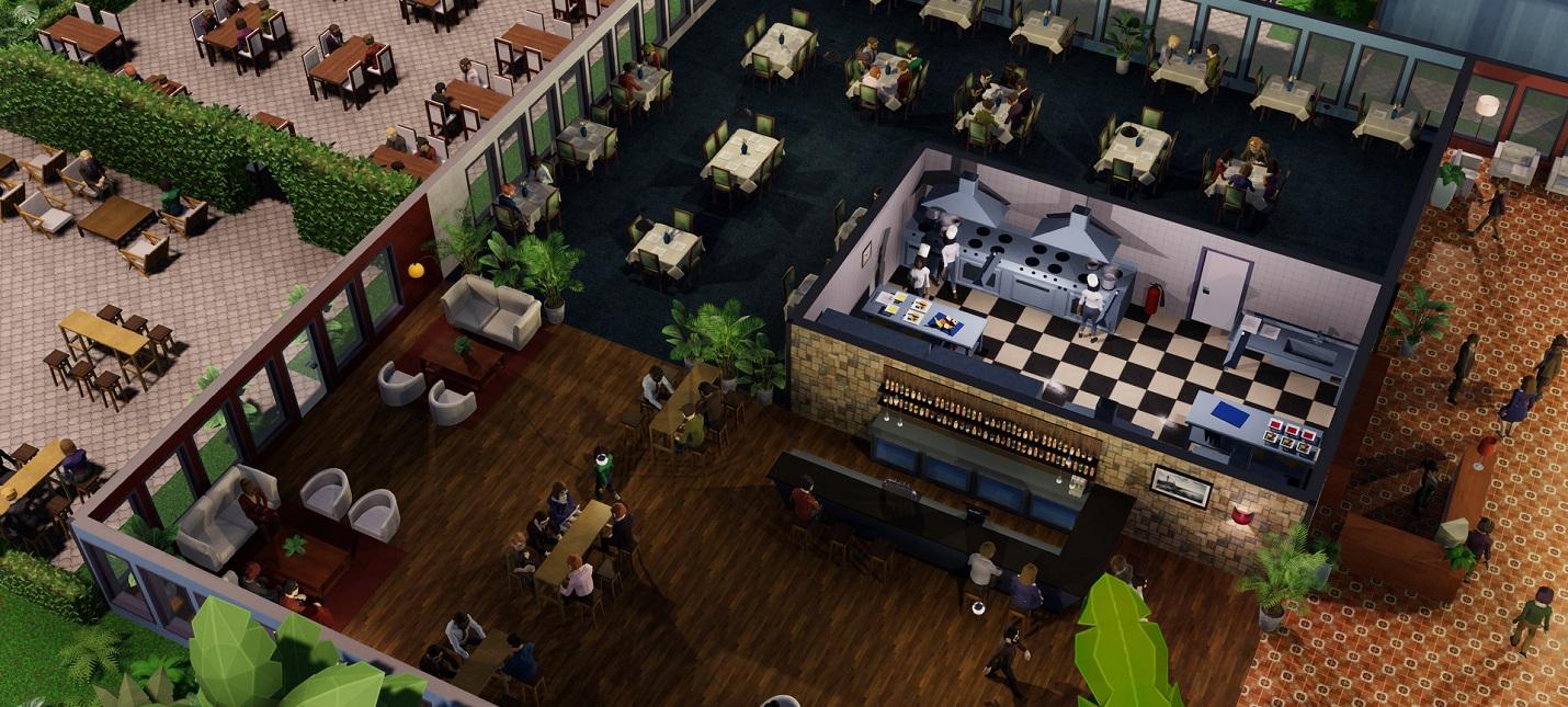 Строительство и управление отелем в первом трейлере экономической стратегии Hotel Magnate