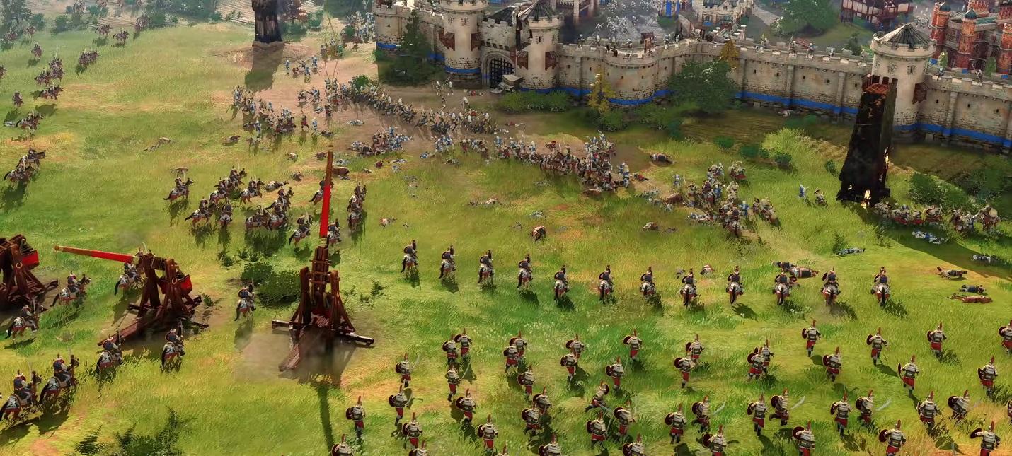 В Age of Empires 4 будет то, чего не было в серии раньше