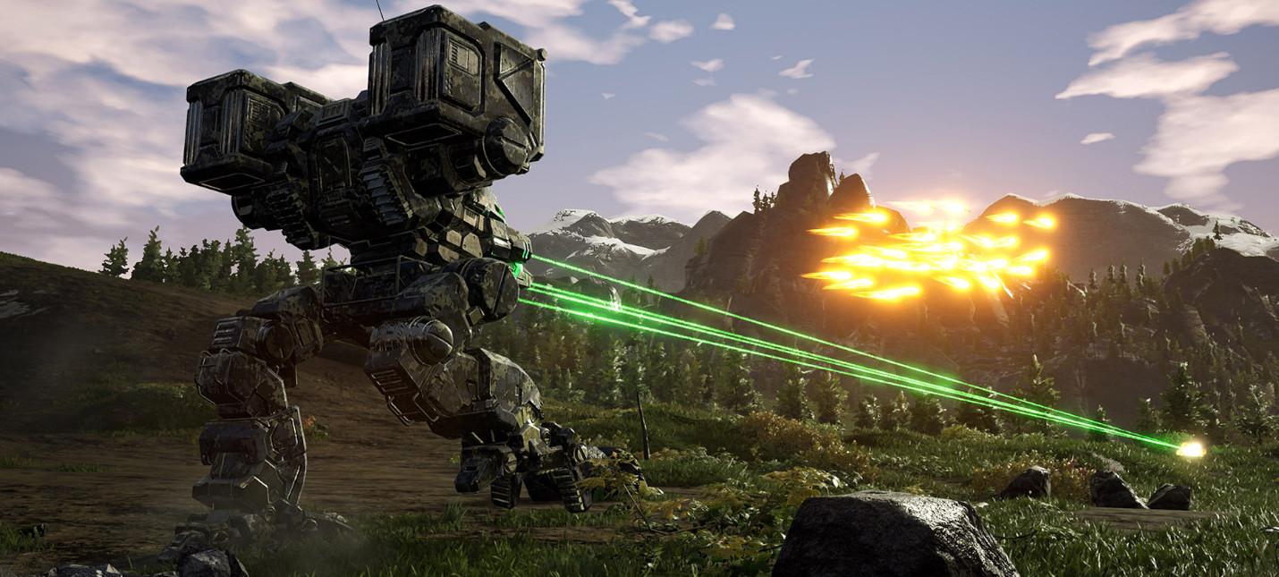Генерация случайных миссий в новом трейлере MechWarrior 5: Mercenaries