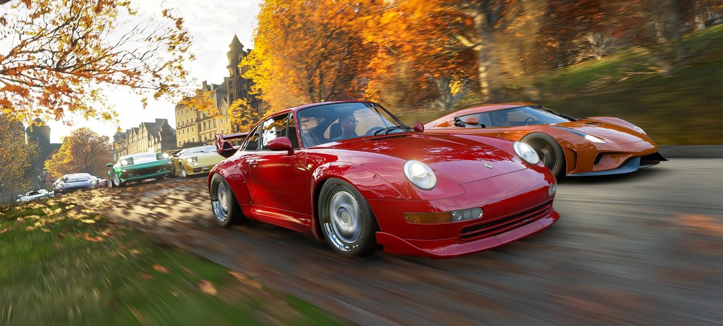 Игроки Forza Horizon 4 бесплатно получат 31 машину в декабре