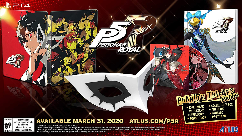 Утечка: Persona 5: The Royal выйдет на Западе в конце марта