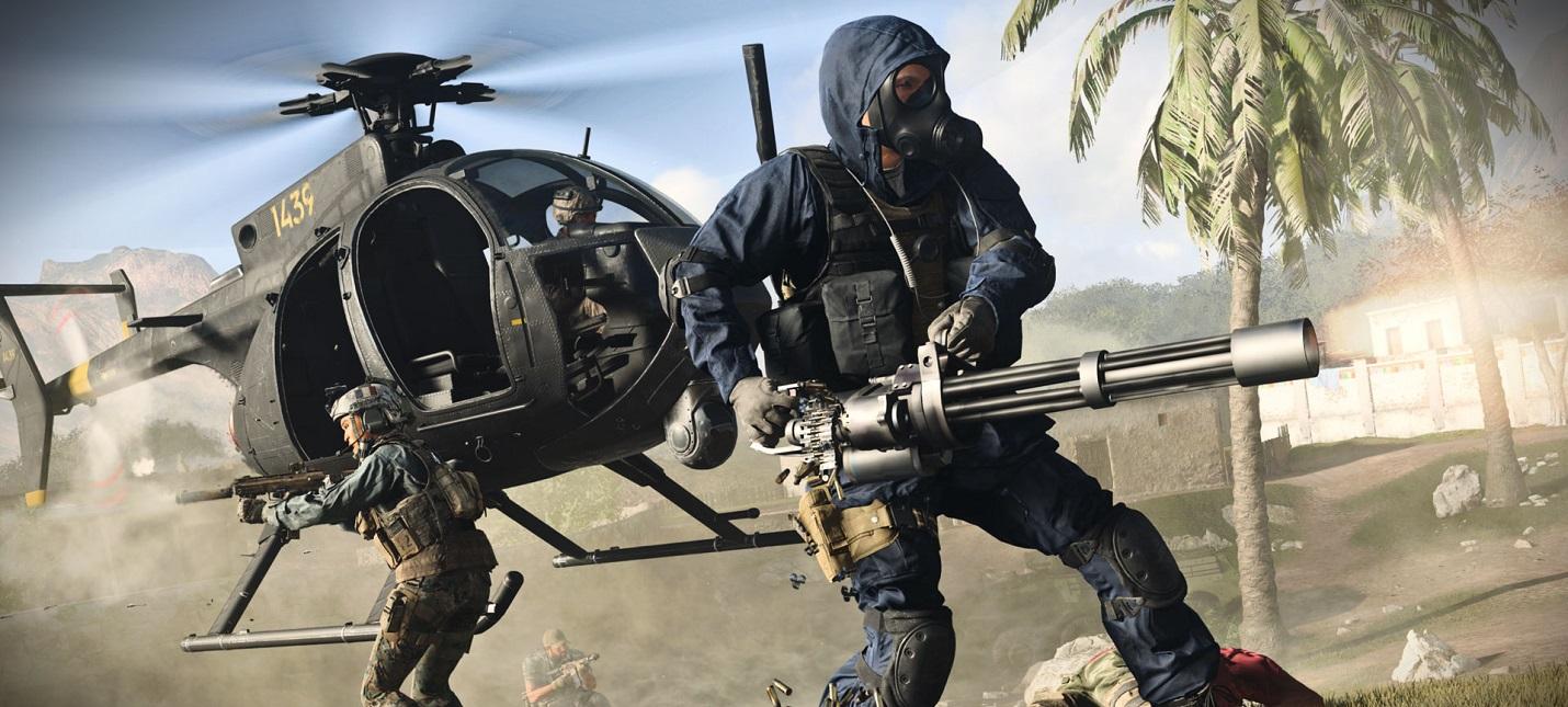 Борьба за сбитый вертолет в синематике первого сезона Call of Duty: Modern Warfare