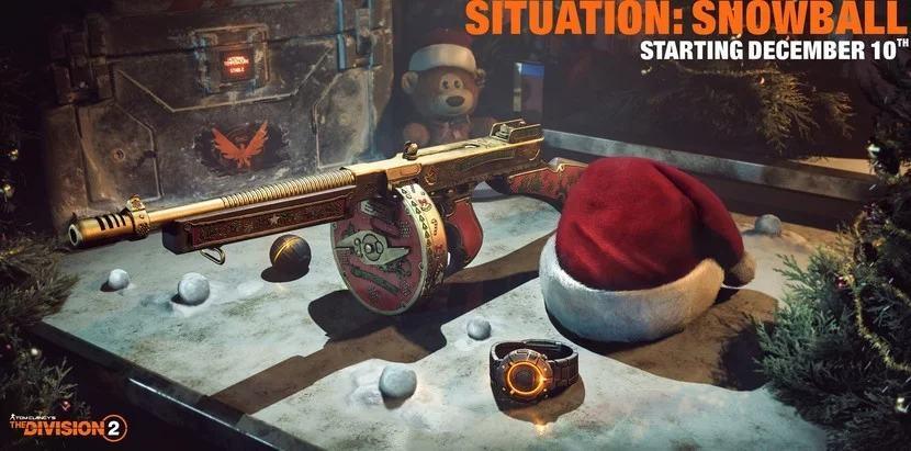 Перманентная смерть и стрельба снежками — что ждет игроков The Division 2 в декабре