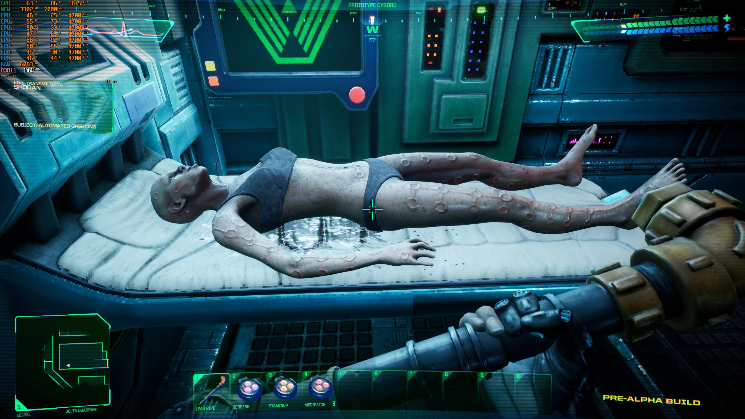 Опубликованы новые скриншоты ремейка System Shock