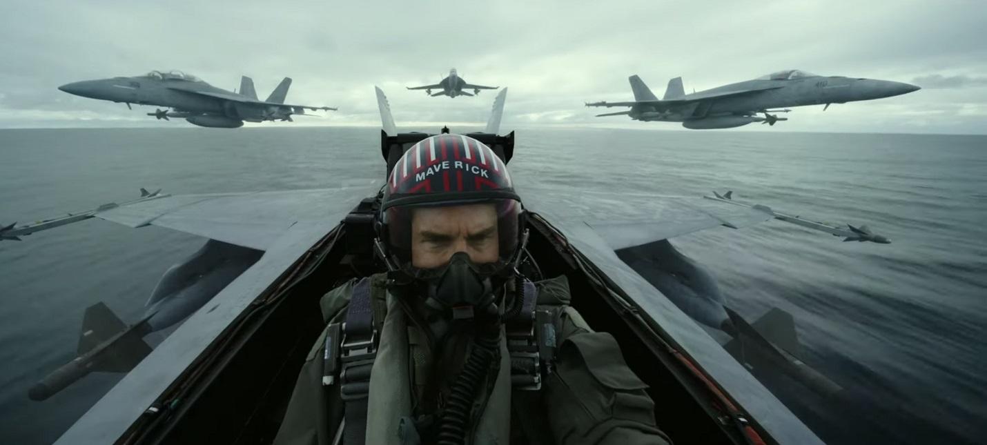 Снова в небо — новый трейлер Top Gun: Maverick