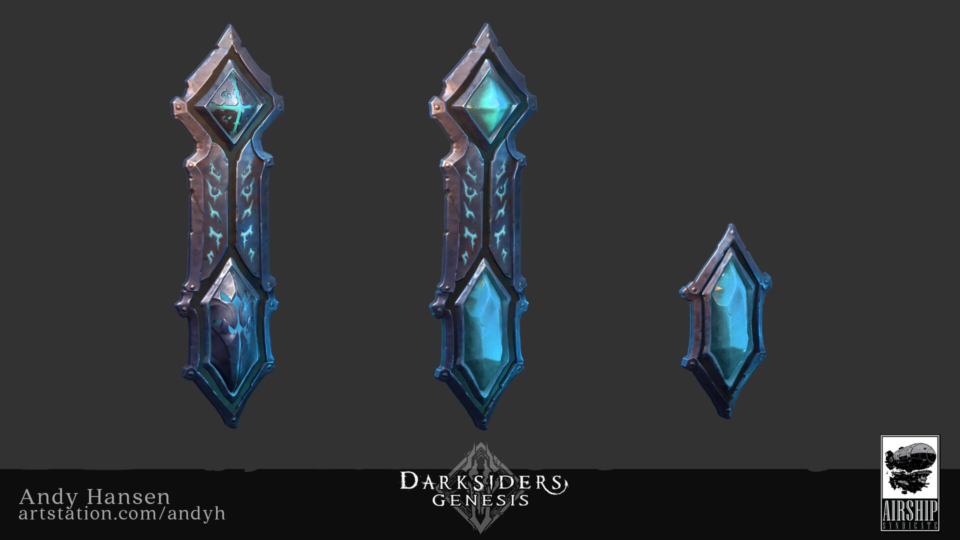 Концепт-арты Darksiders Genesis