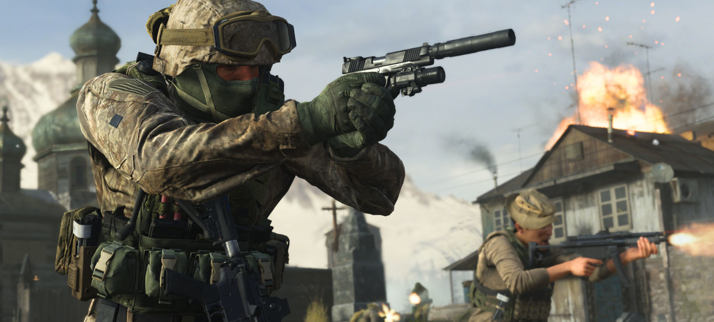 UK-чарт: Modern Warfare вернула первенство