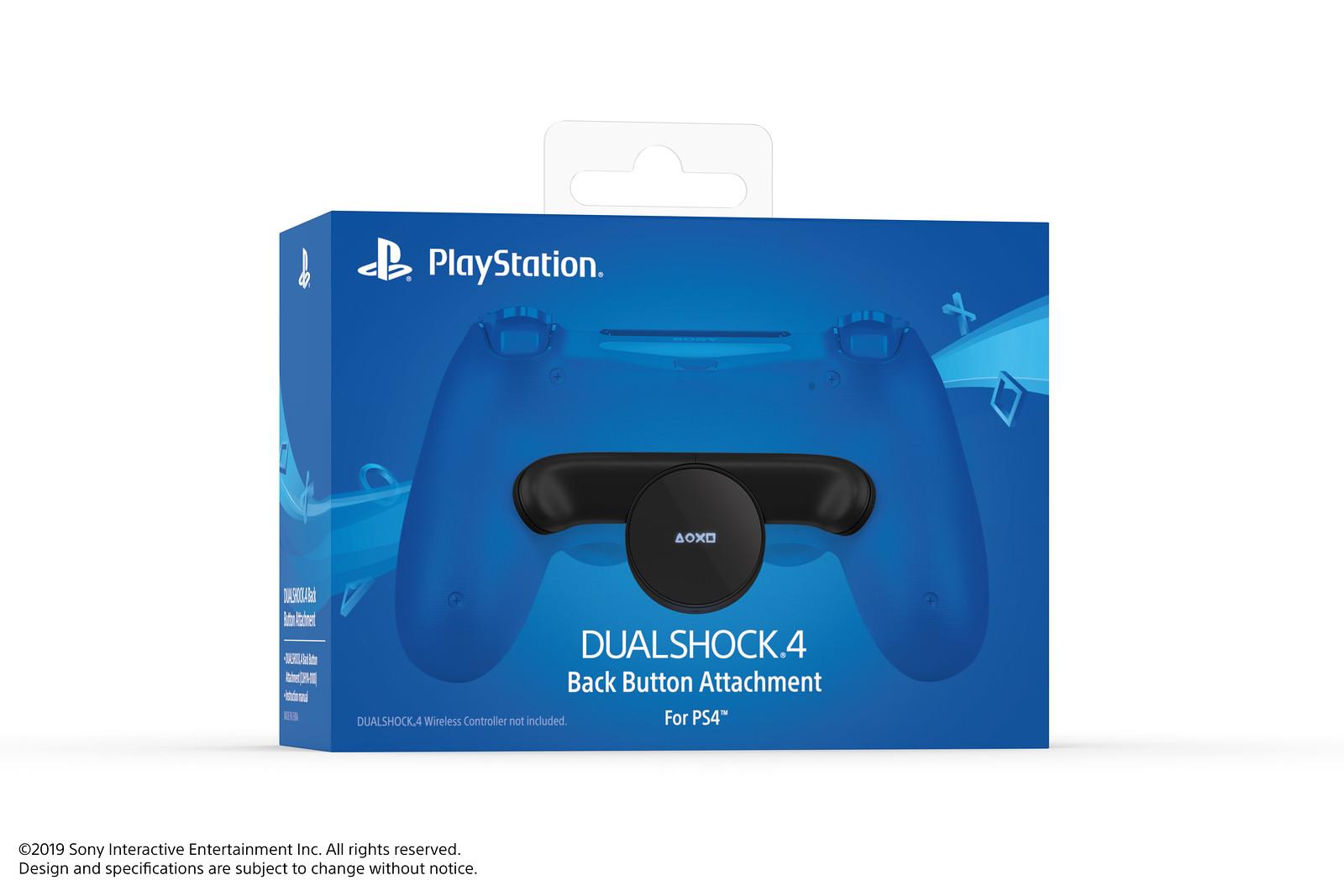 Sony анонсировала подключаемый модуль для DualShock 4 с дополнительными кнопками