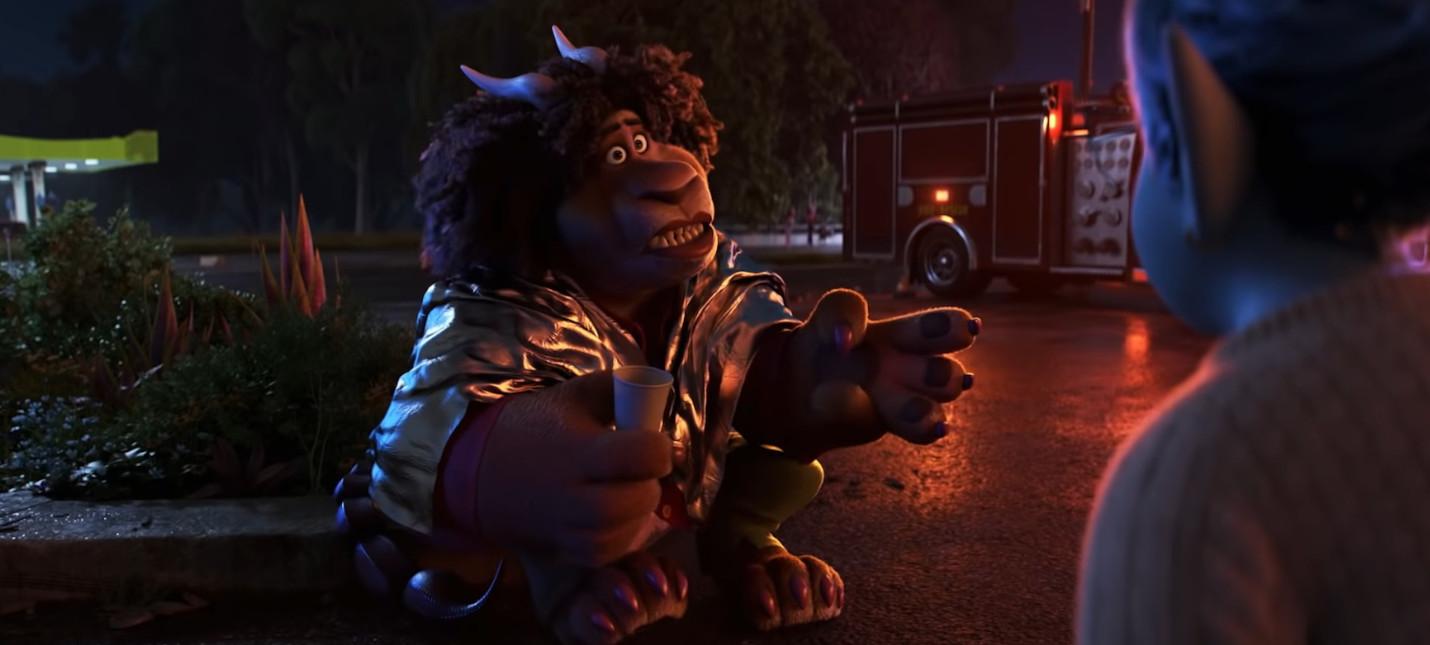 """Отошедшая от дел мантикора в новом трейлере мультфильма """"Вперед"""" от Pixar"""
