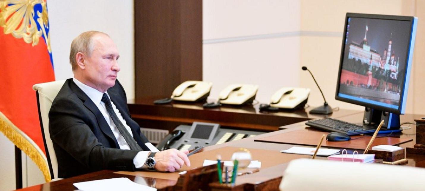 Владимир Путин все еще использует WIndows XP