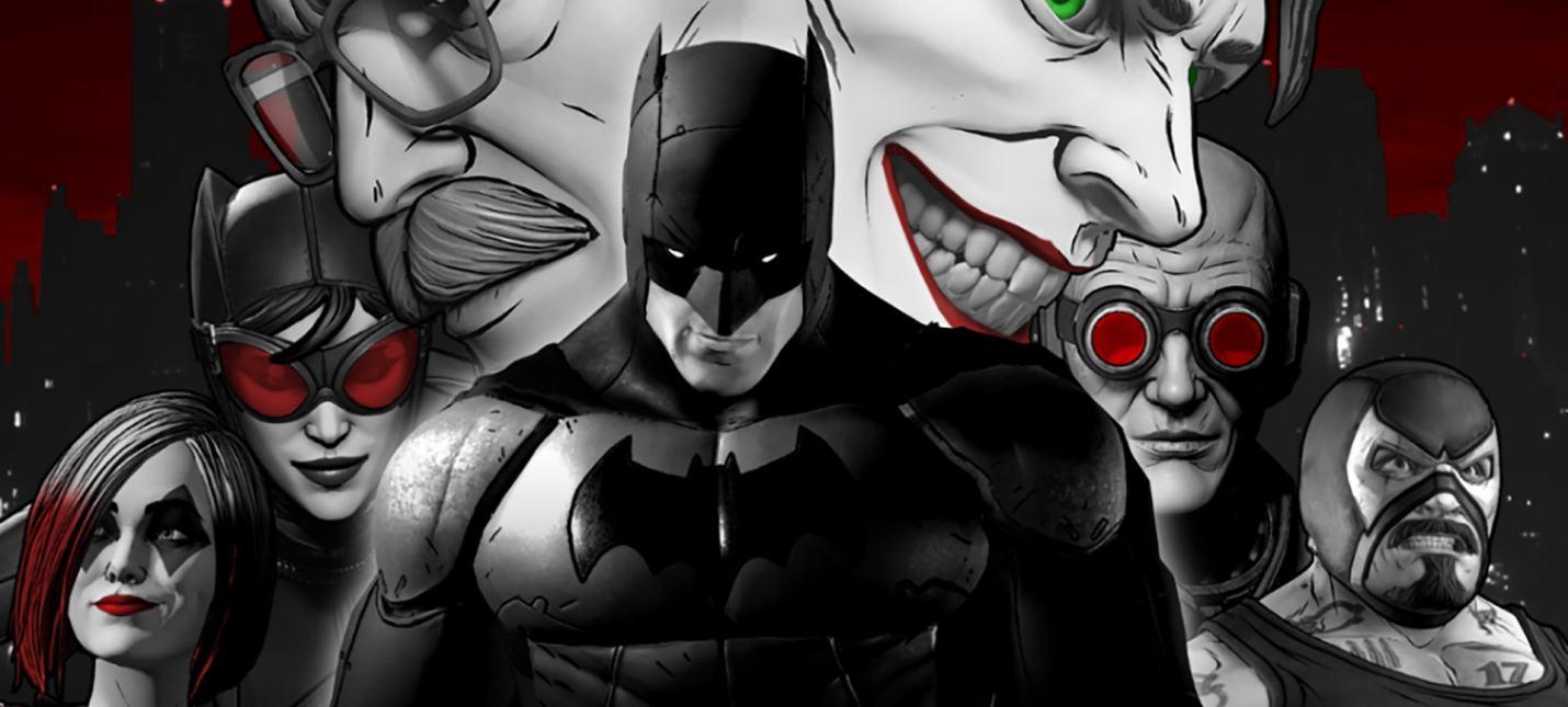 Состоялся релиз сборника The Telltale Batman Shadows Edition