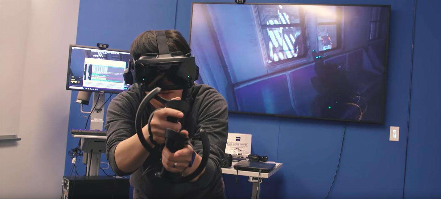 Живой геймплей Half-Life: Alyx от Tested