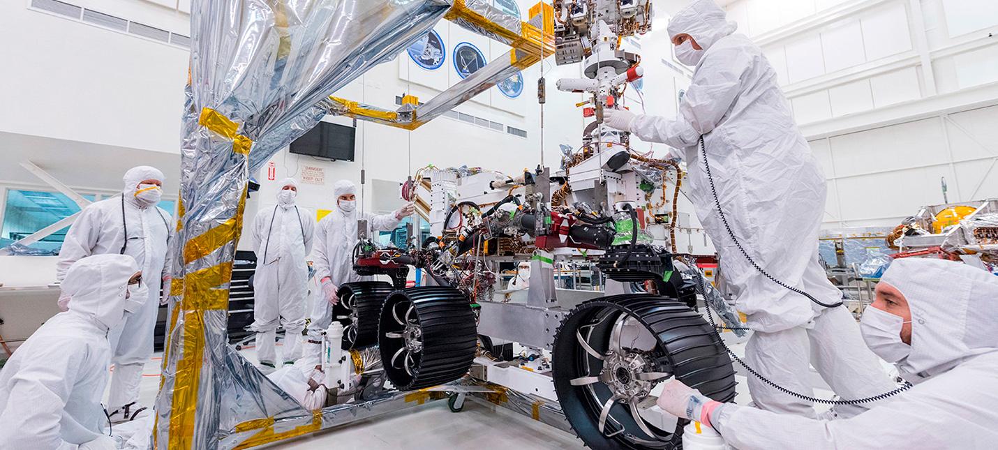 NASA впервые показала в действии ровер для миссии Mars 2020
