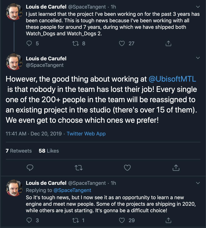 Ubisoft закрыла неанонсированный тайтл, над которым работала три года
