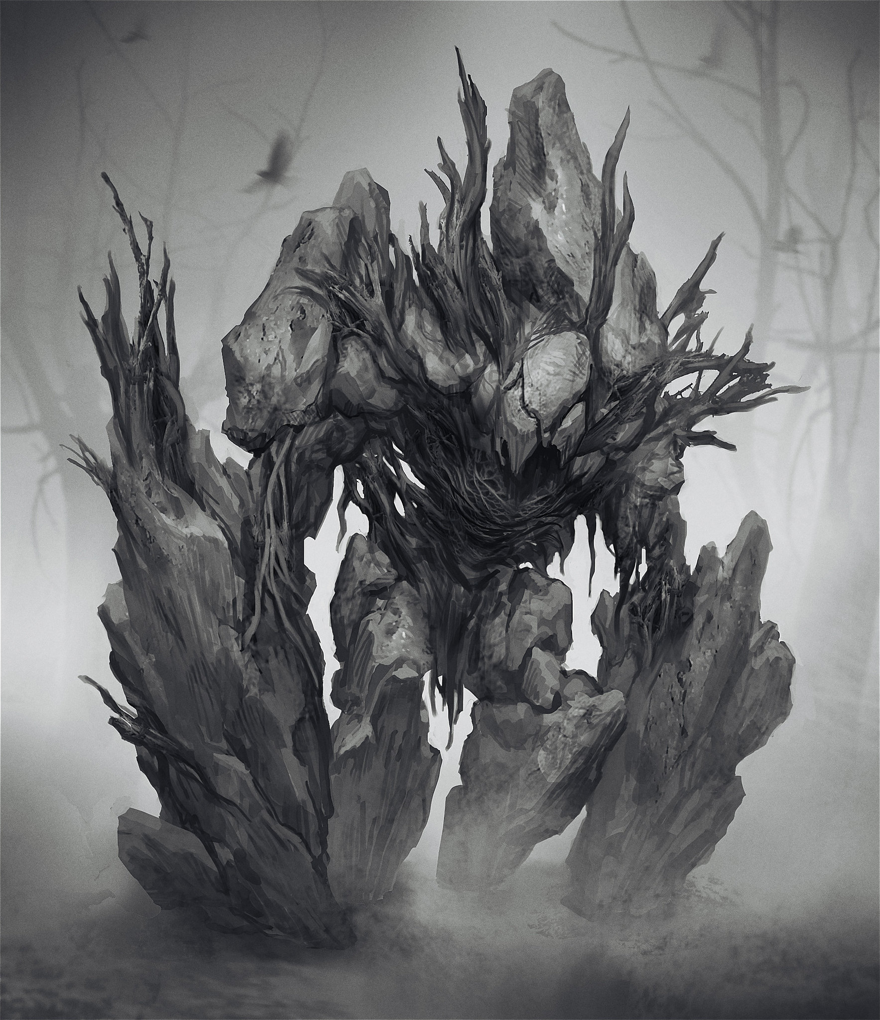 Ранее неопубликованные концепты серии God of War