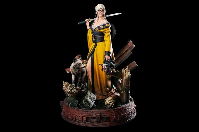 CD Projekt RED выпустит фигурку Цири в образе японской охотницы на демонов
