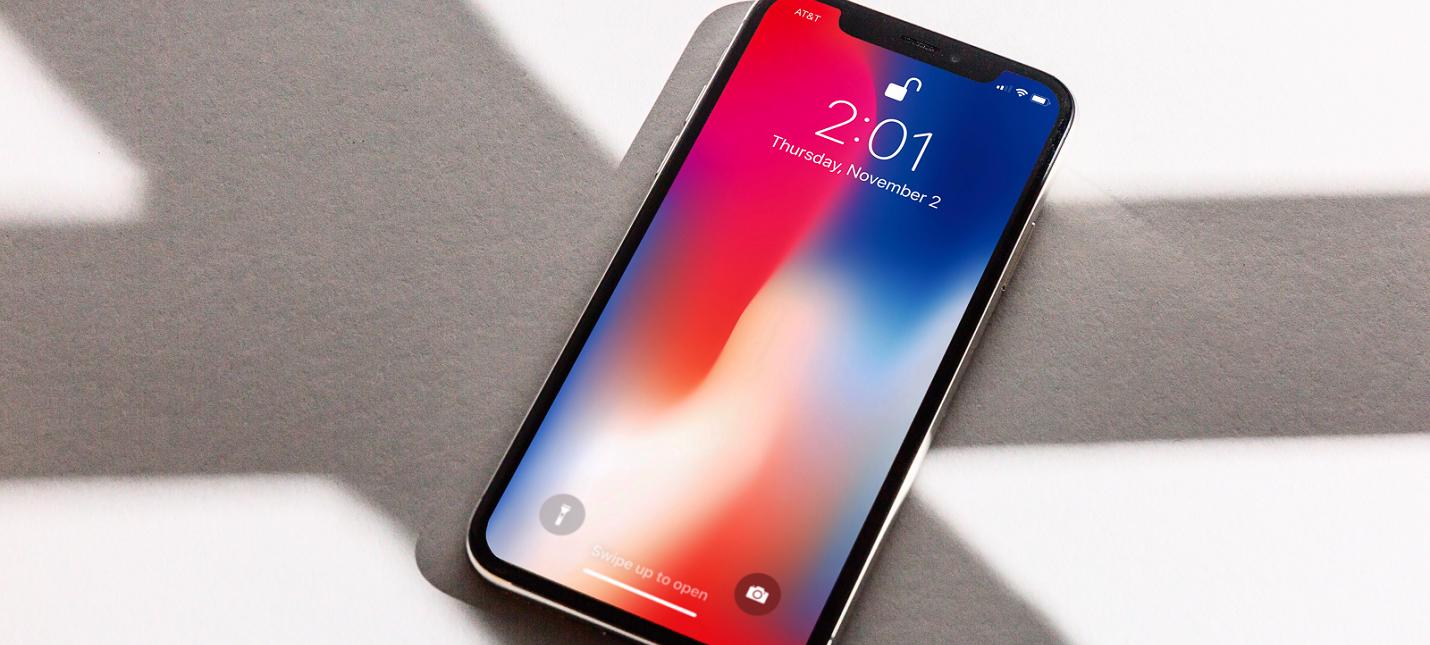 Пользователи iPhone X начали жаловаться на быструю разрядку смартфона