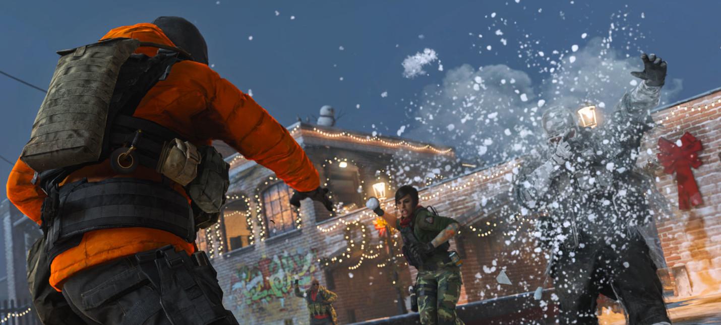 В Call of Duty: Modern Warfare можно будет поиграть в снежки