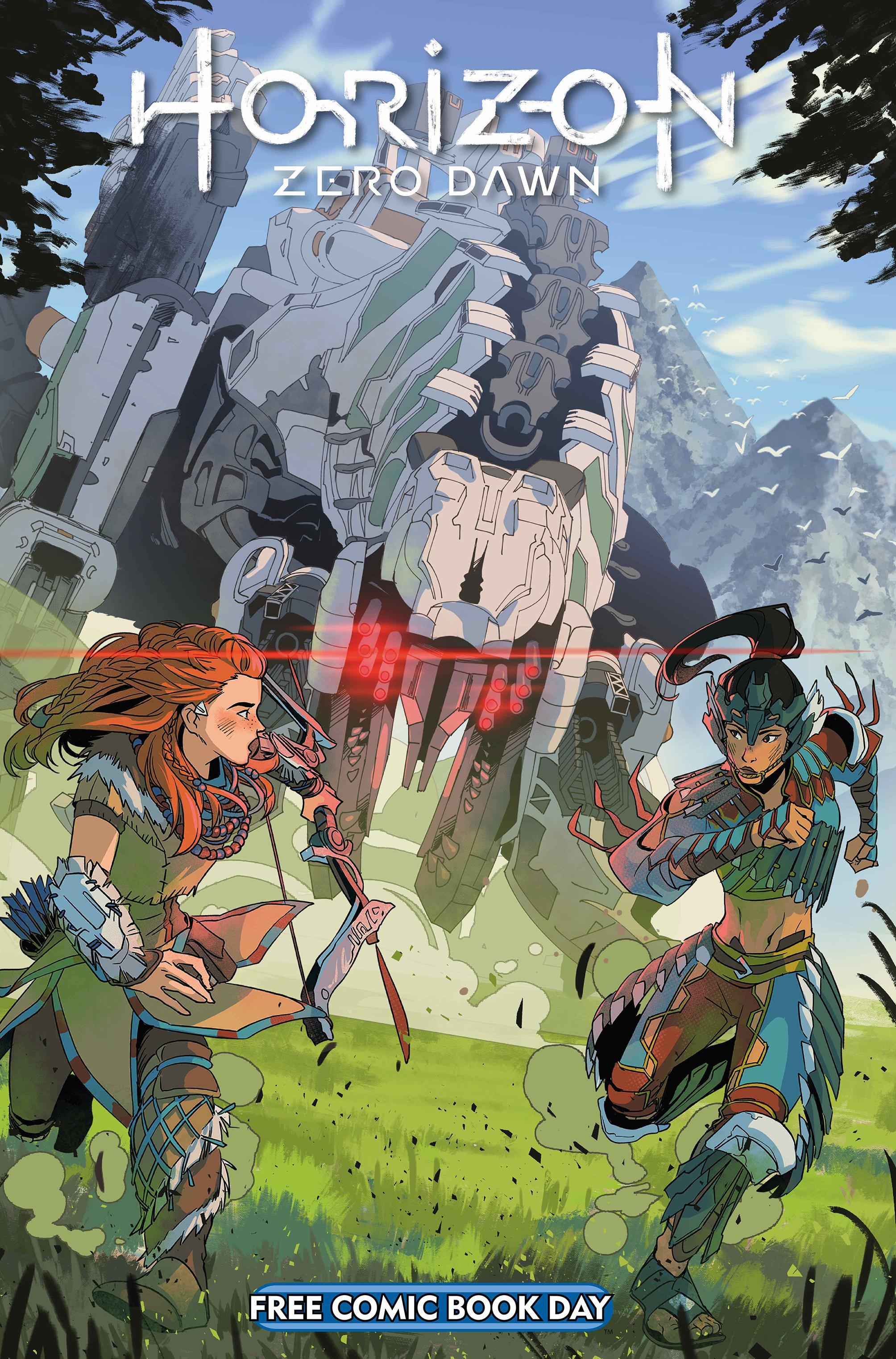 Horizon Zero Dawn получит сиквел-комикс в 2020 году