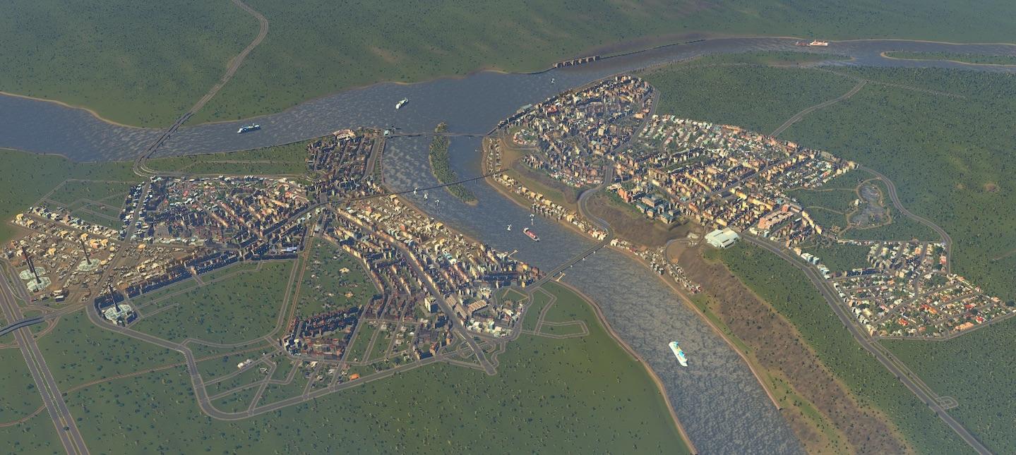 В Cities: Skylines воспроизвели Нижний Новгород