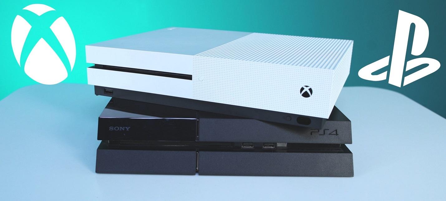 PS4 обошла Xbox One в продажах в США на 4.6 миллионов консолей