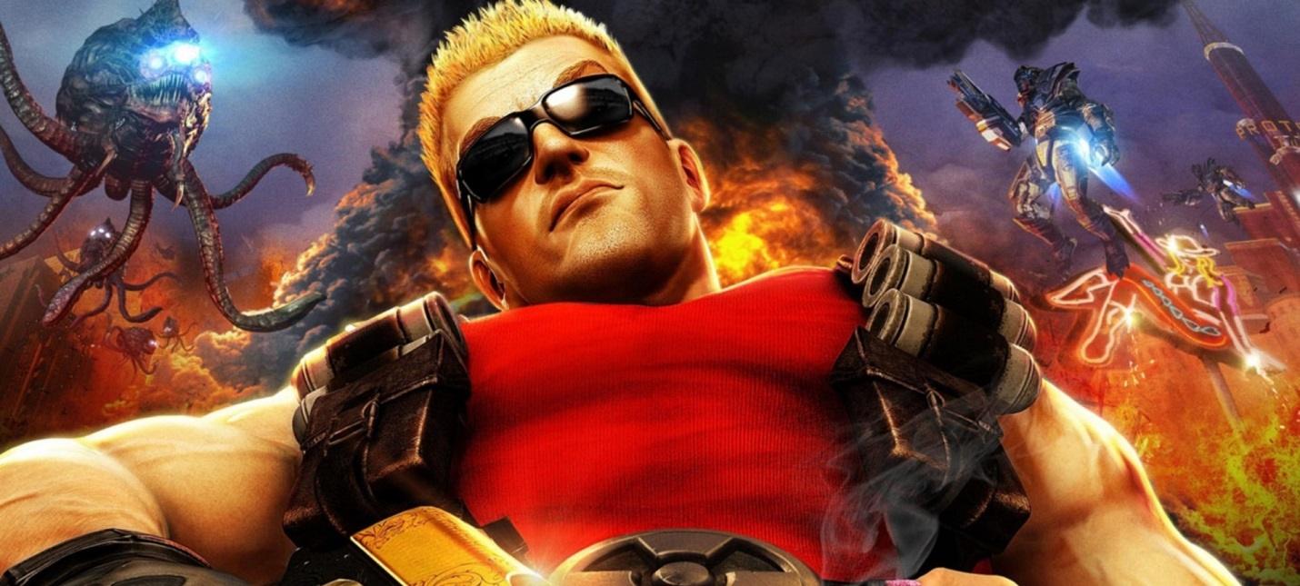 В сети появились геймплейные кадры отмененной версии Duke Nukem Forever
