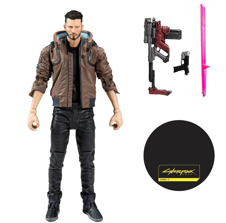 McFarlane Toys анонсировала фигурки Киану Ривза и Ви из Cyberpunk 2077