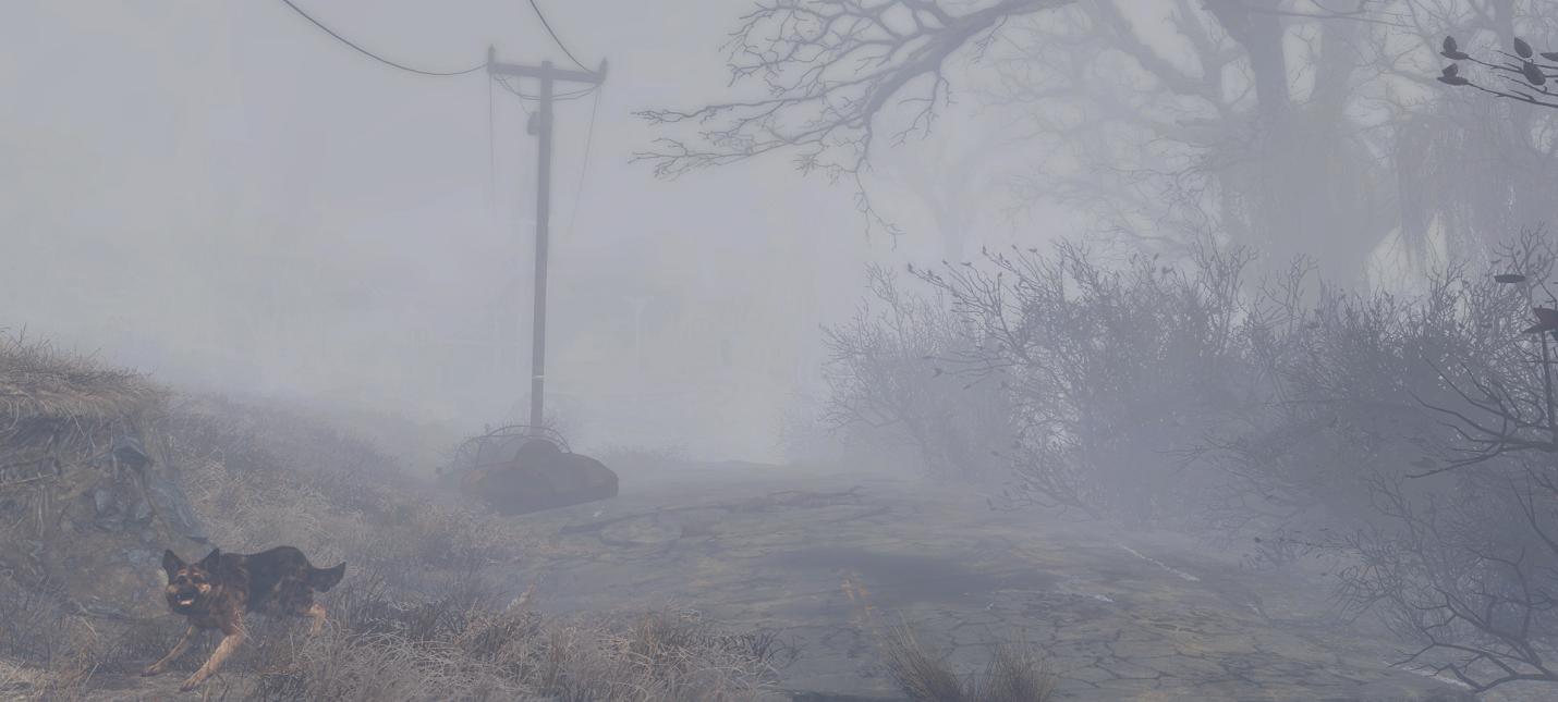 Новый мод к Fallout 4 превращает игру в Silent Hill