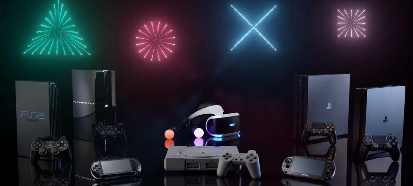 25 лет истории PlayStation в новогоднем ролике от Sony