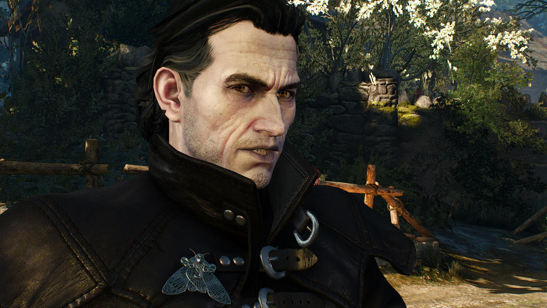 Моддер улучшил лица персонажей The Witcher 3: Wild Hunt
