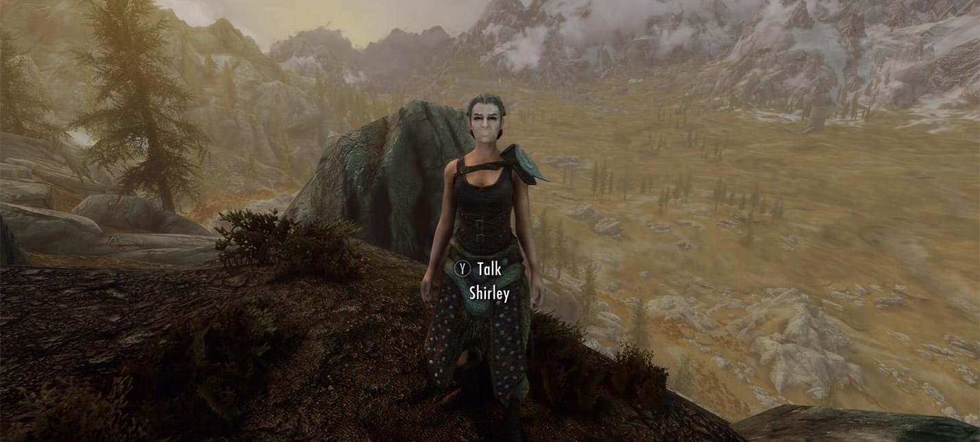 Бабуля Skyrim озвучивает свою виртуальную версию для мода