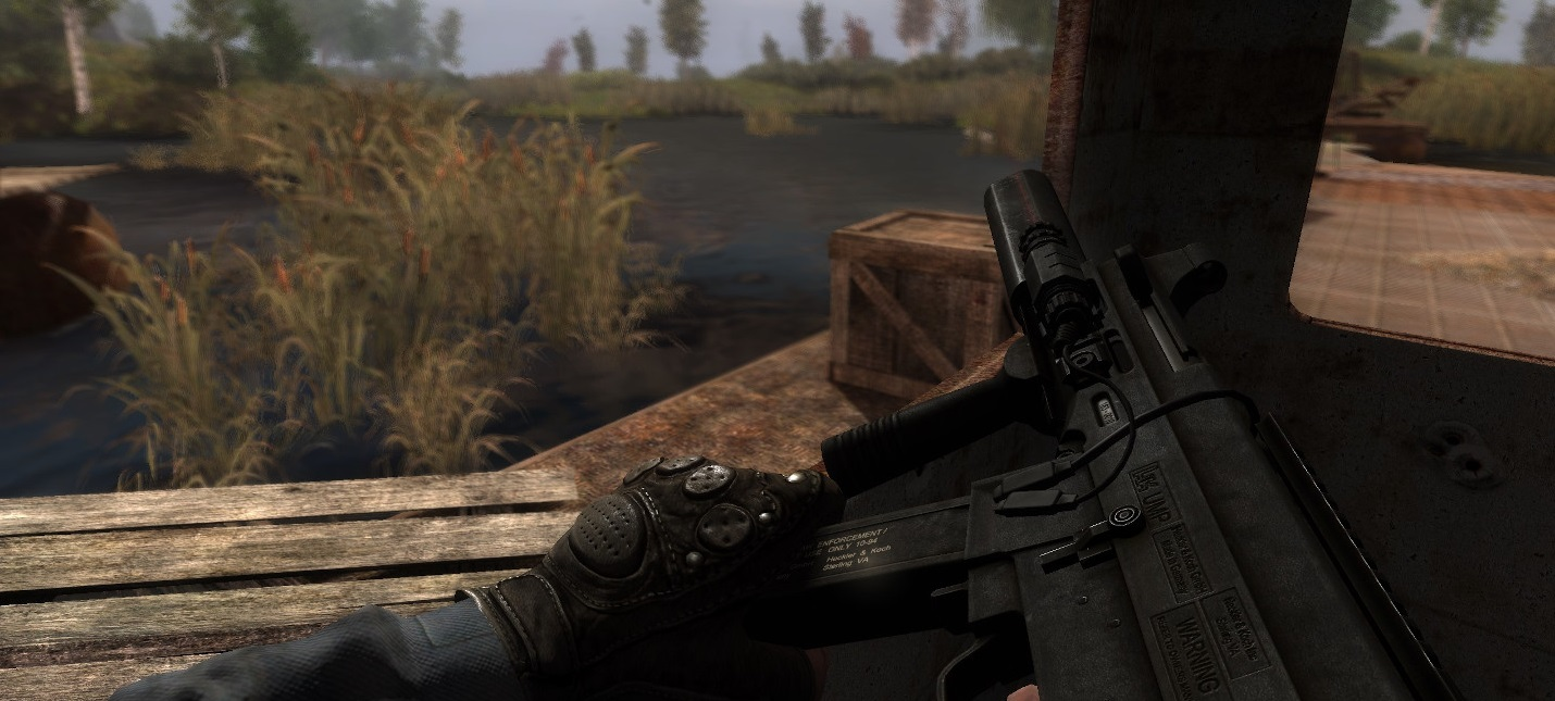 Вышел оружейный мод Gunslinger для S.T.A.L.K.E.R. Call Of Pripyat
