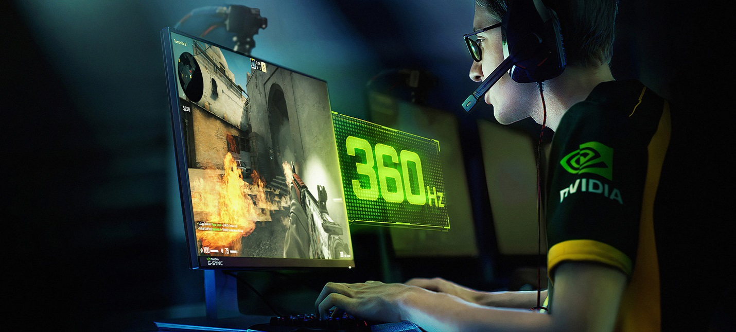 CES 2020: Nvidia покажет монитор для киберспорта с G-sync и 360 Гц
