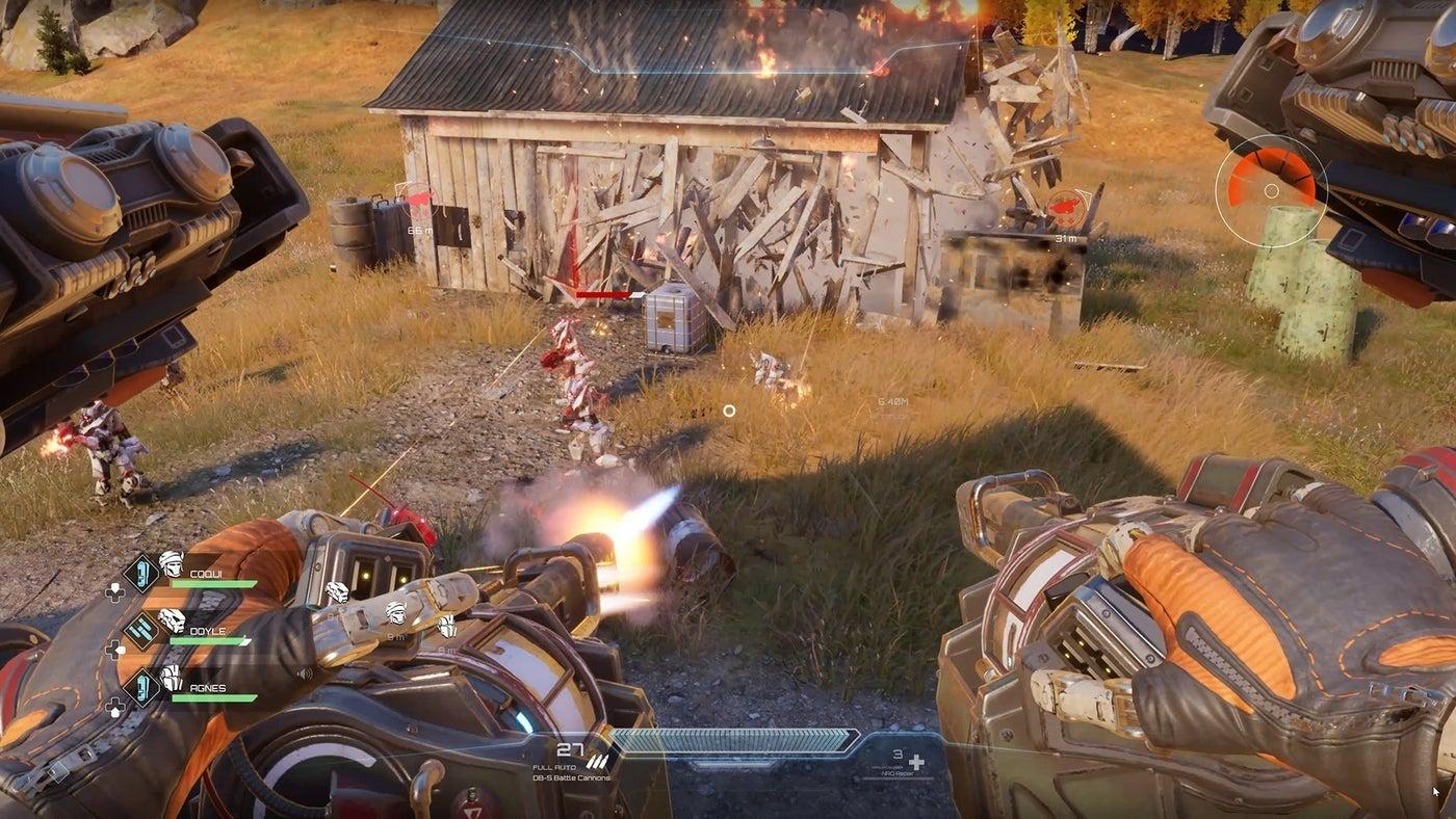 Новые скриншоты, геймплей и подробности Disintegration