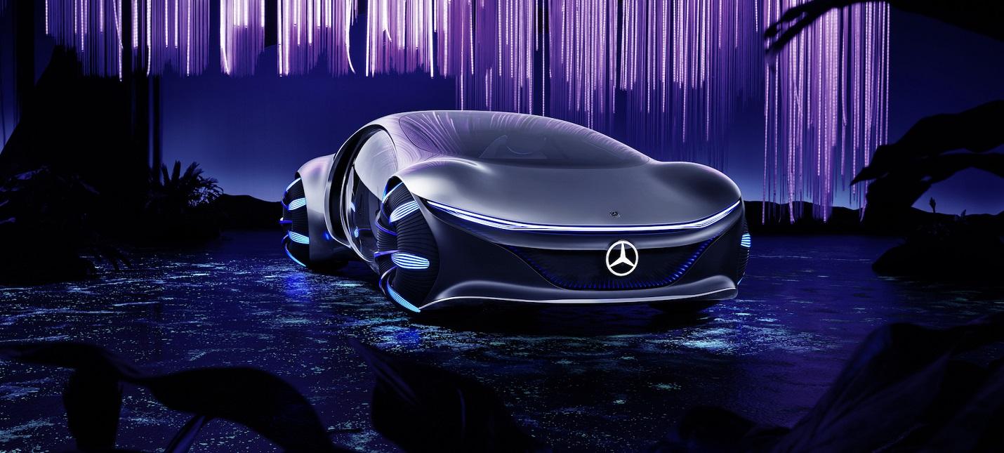 "CES 2020: Mercedes-Benz показала концепт-кар в стиле ""Аватар"""