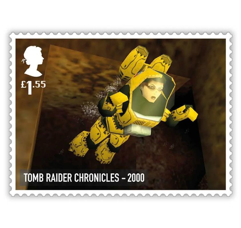 В Великобритании вышли почтовые марки с классическими британскими видеоиграми