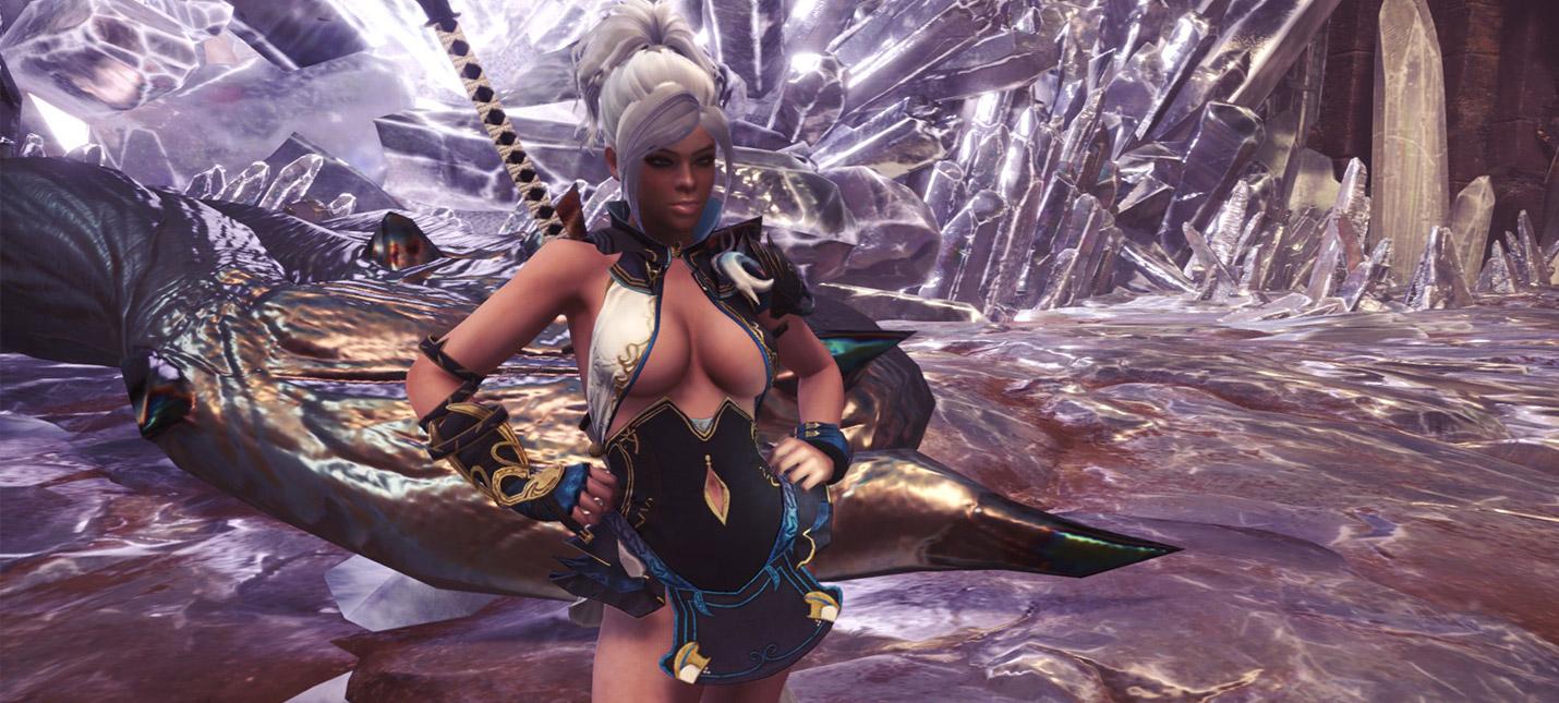 Новый мод Monster Hunter World улучшает физику груди