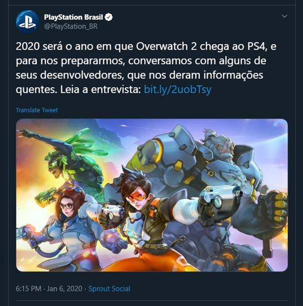 Слух: Overwatch 2 может выйти в этом году