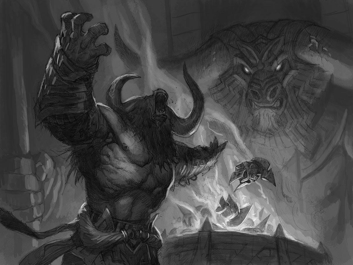 Эксклюзивный взгляд на новую карту Magic: The Gathering из набора Терос: За порогом смерти