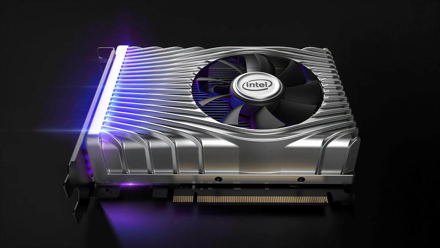 Intel впервые показала внешний вид своей видеокарты Xe DG1