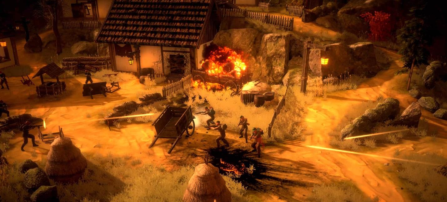 Тяжести войны в сюжетном трейлере стратегии Broken Lines